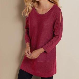Soft Surroundings  Eudora Twinkle Sweater Tunic